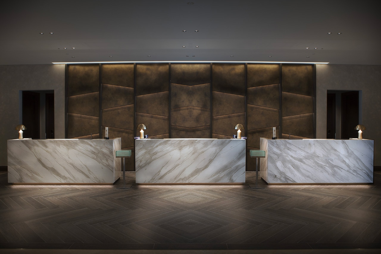 Neolith at the Hilton