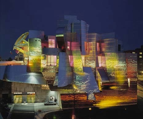 Frederick R. Weisman Art Museum. Photo Don Wong