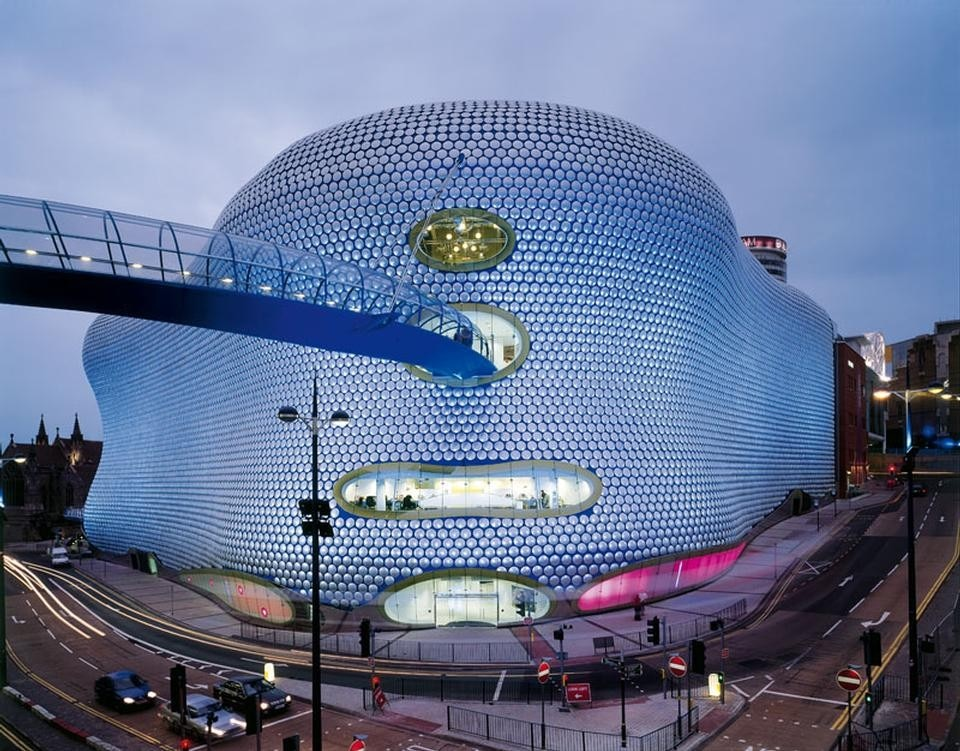 Birmingham, Selfridges department store. Photo Richard Davies
