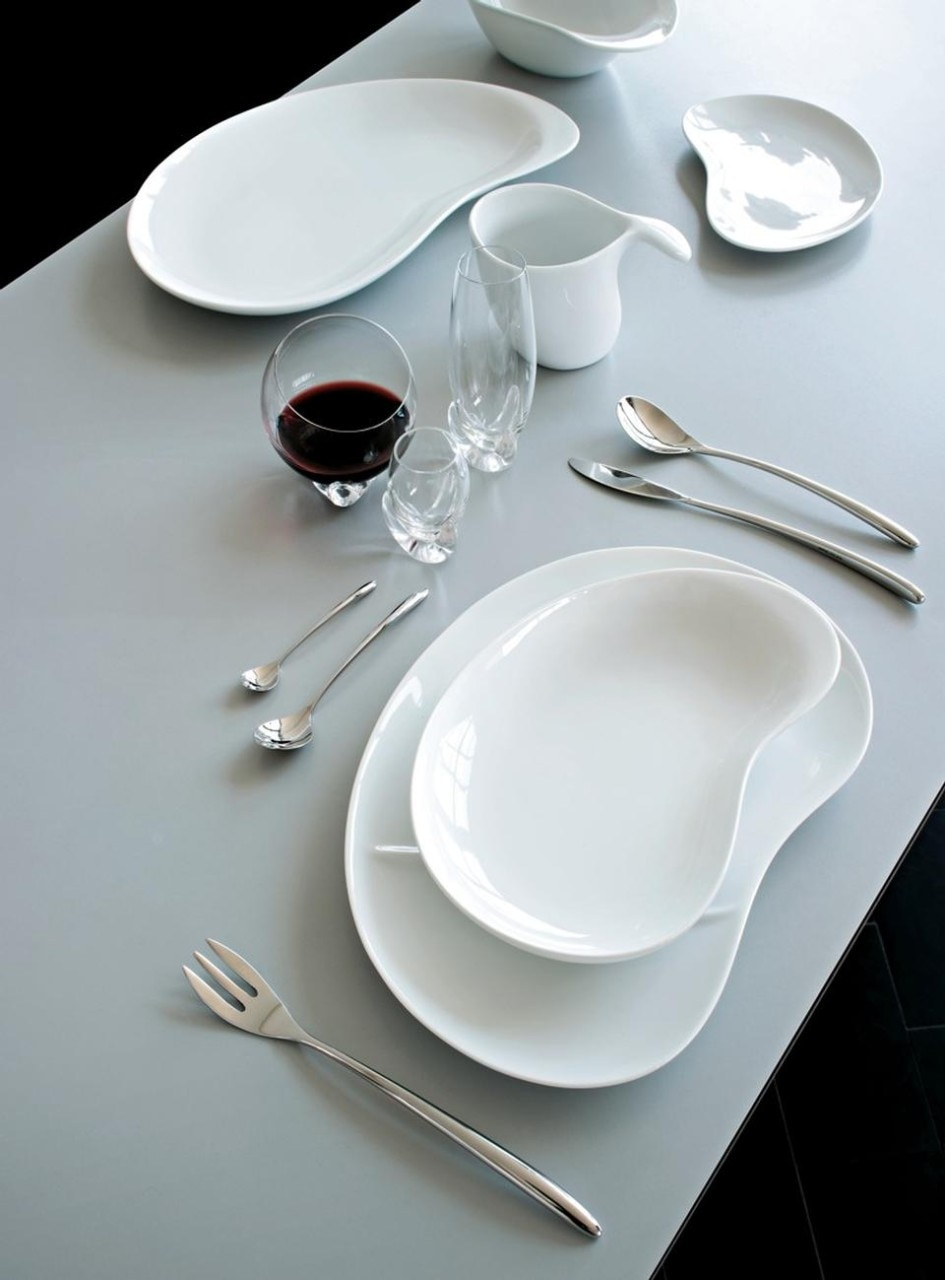 Bettina, table-set designed for Alessi in 2008