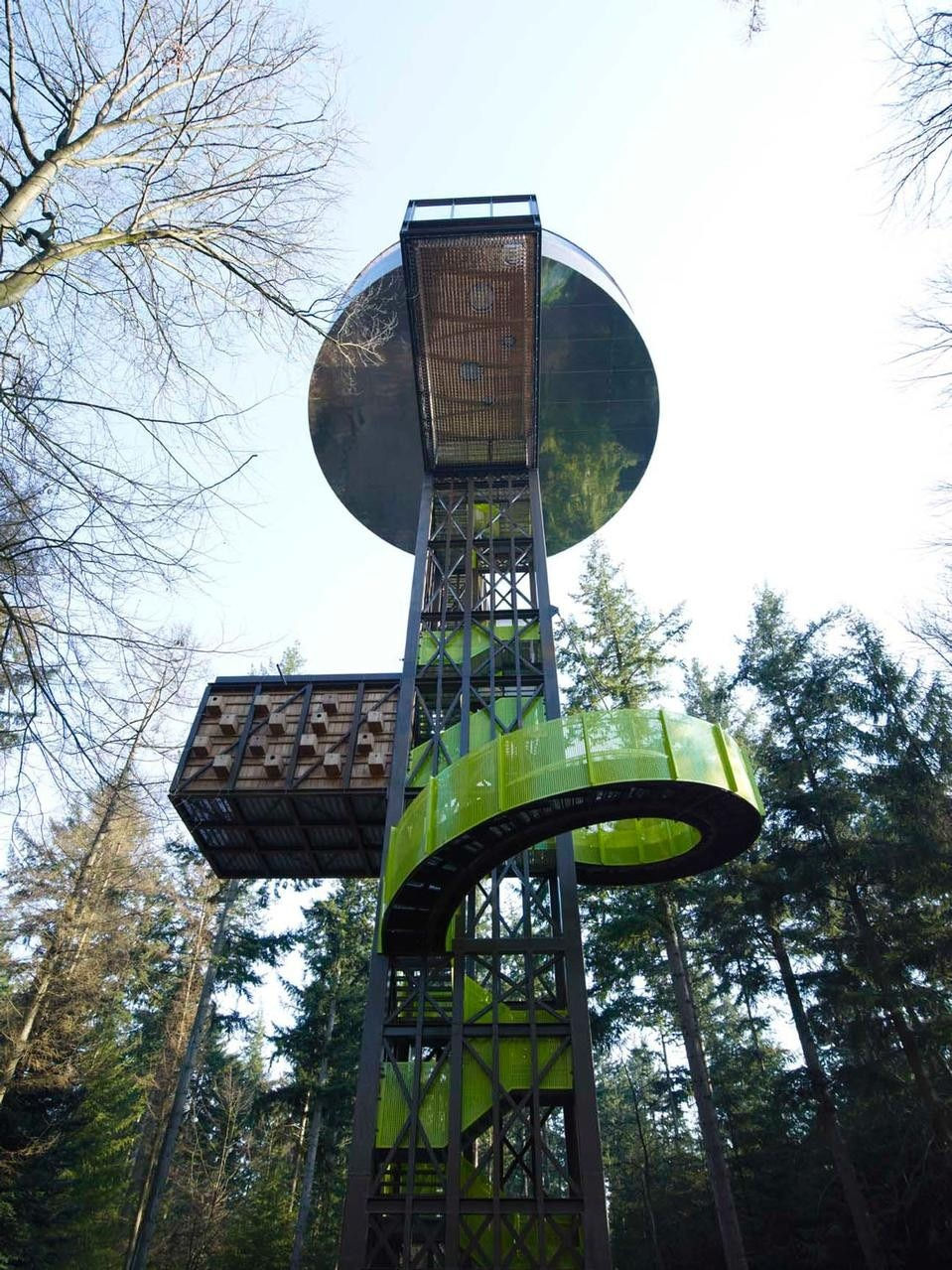 Forest Tower By Search Domus