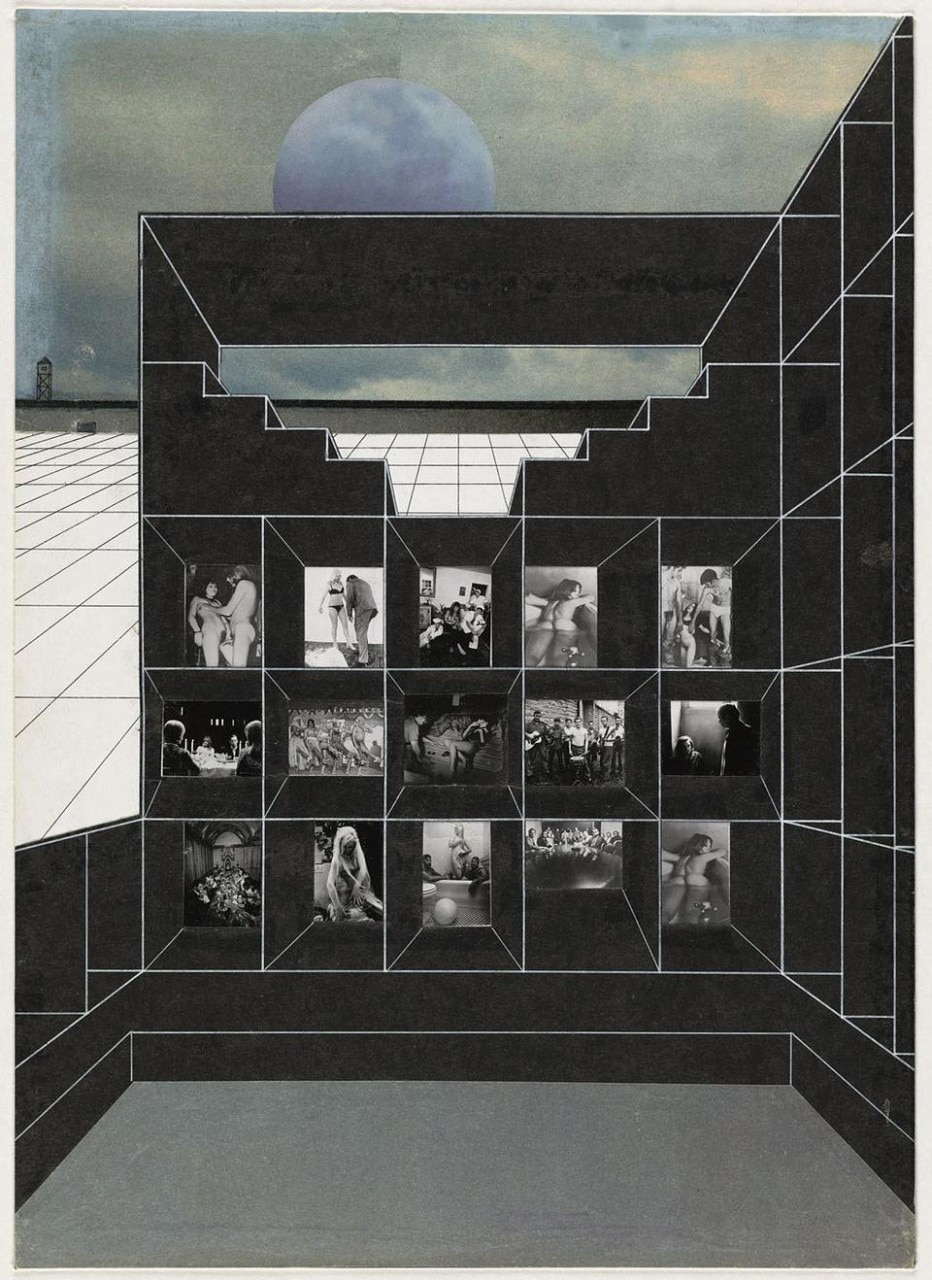 Rem Koolhaas, Madelon Vriesendorp, Elia et Zoe Zenghelis, Exodus or the Voluntary Prisoners of Architecture, 1972. © The Museum of Modern Art, New York/Scala, Florence