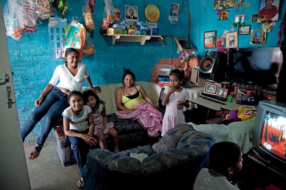 Señora María and family