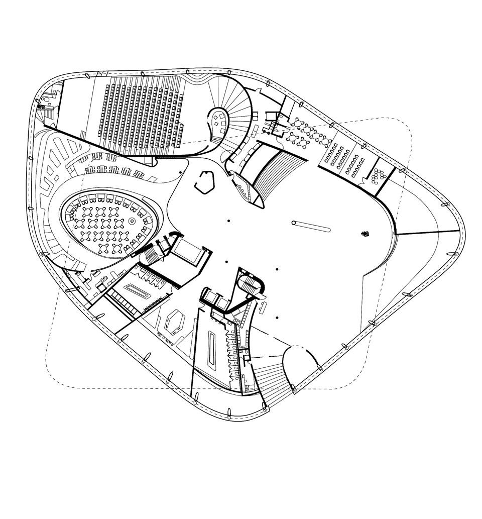 Artworld beehive for Architectural design floor plans
