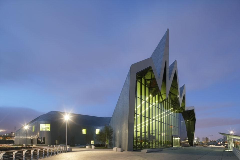 The Riverside Museum, Glasgow. Photo by Hufton + Crow.