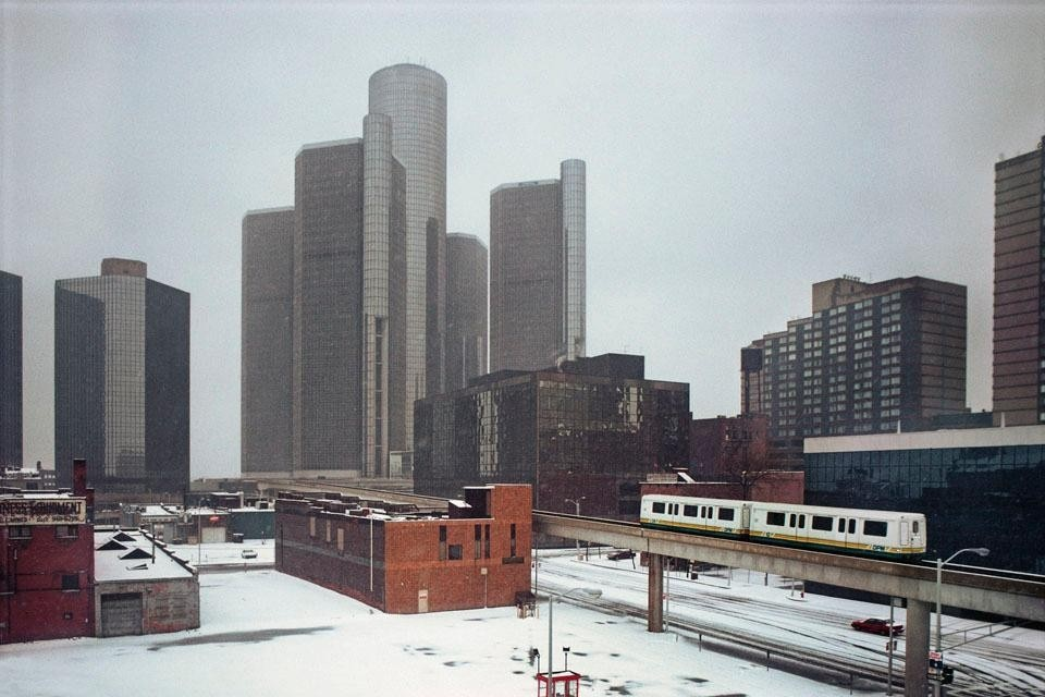 Renaissance Center, Detroit, 2005. <br />