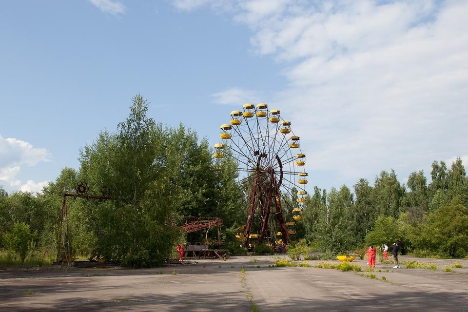 Chernobyl's theme park. Photograph by Neil Berrett.