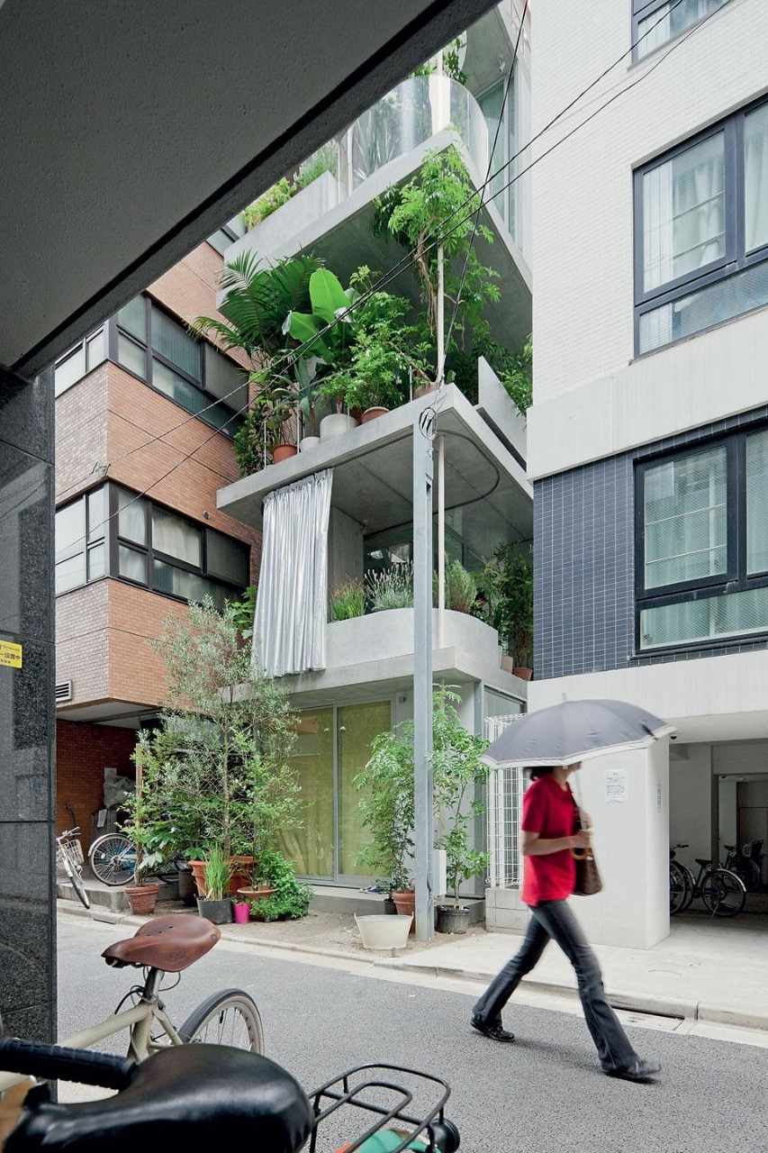 Vases, planters, concrete