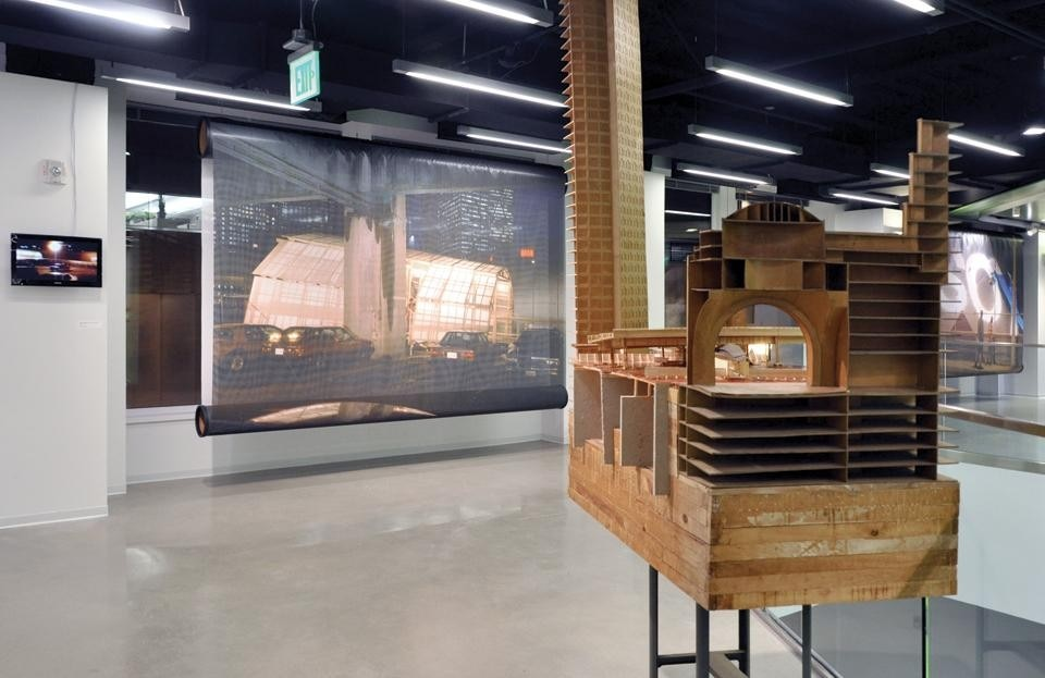 <em>IN FORM, Communicating Boston</em>, Boston Society of Architects, installation view
