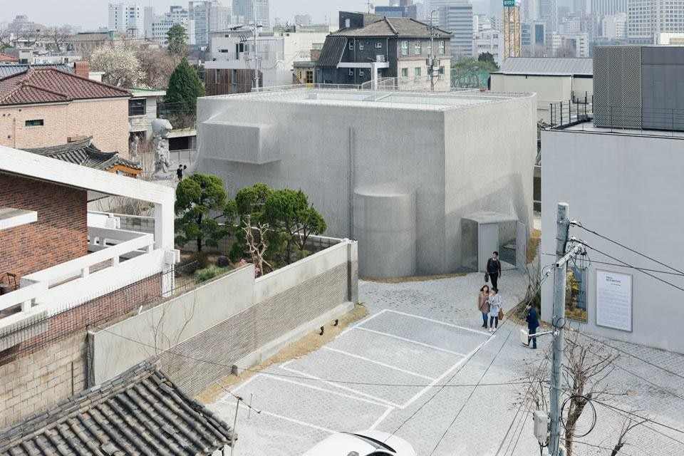 The K3 building for Kujke Gallery in Seoul, South Korea. 