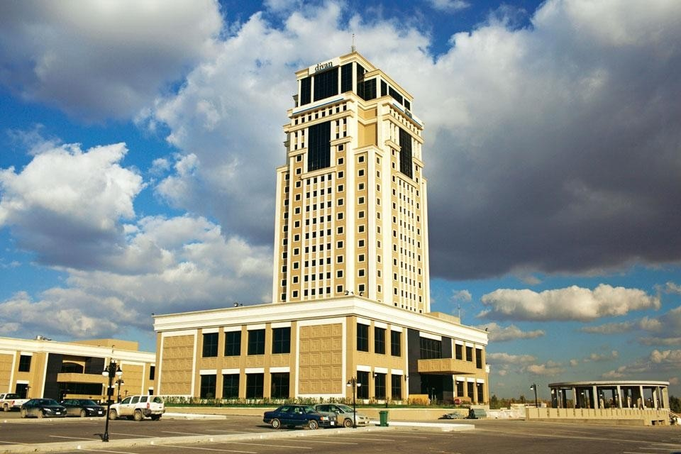 A journey to the other iraq domus for Divan hotel erbil