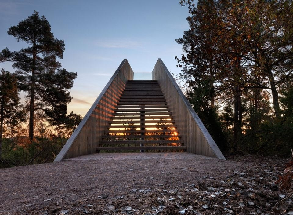 Todd Saunders Forest Stair Domus