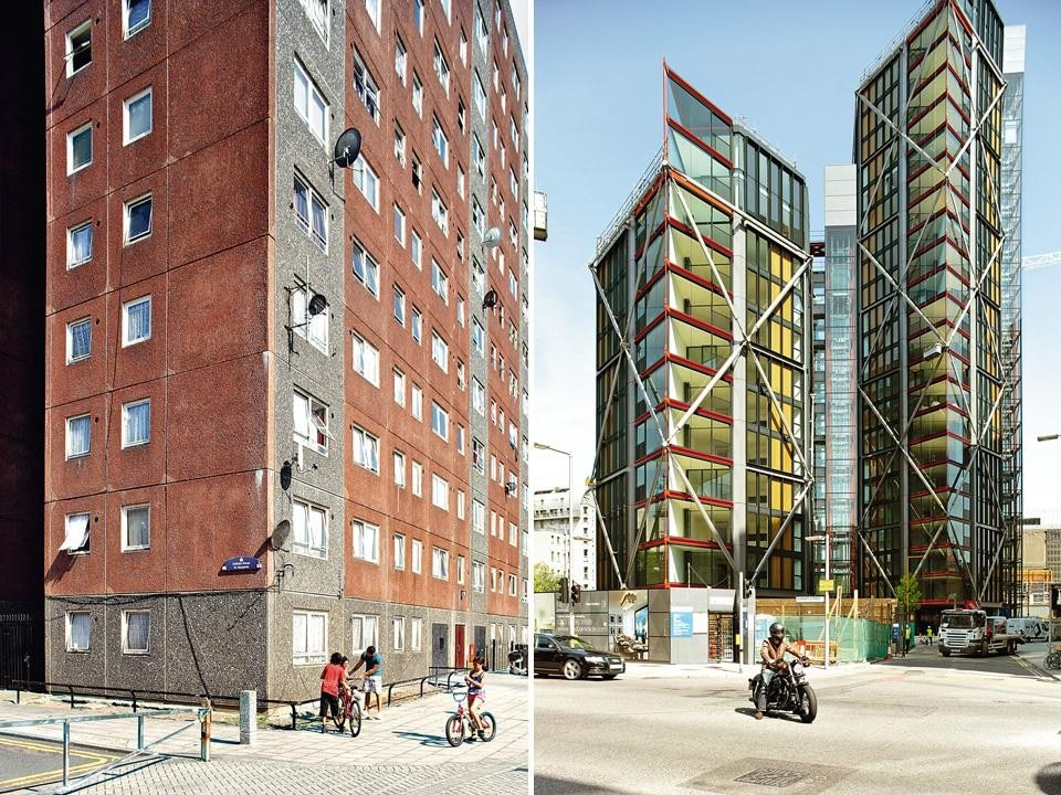 Left, Barking: One of the 1960s council