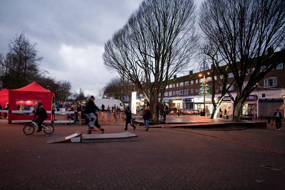 The square at New
