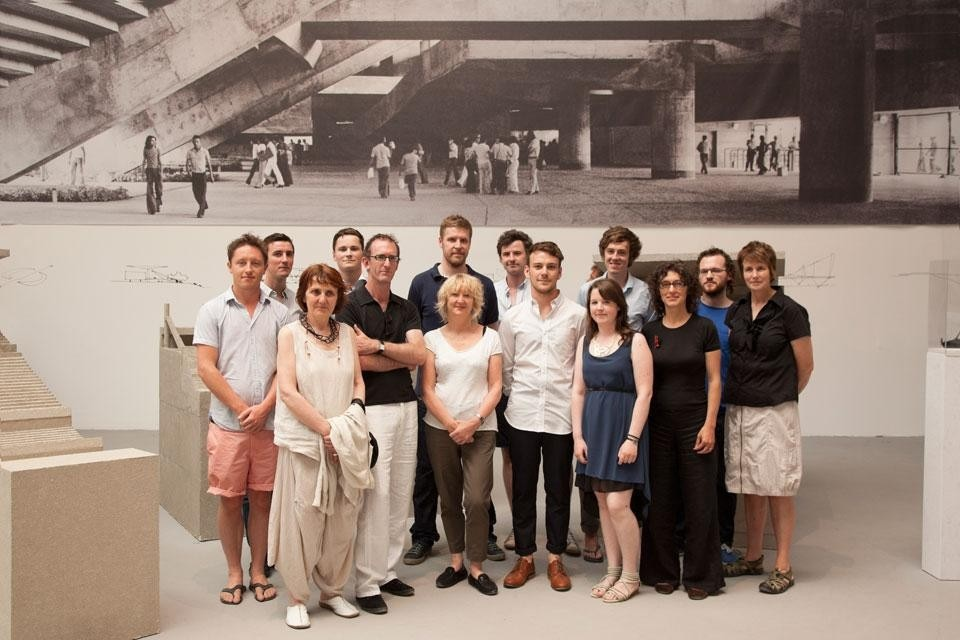 The Grafton Architects design team. Photo by Alice Clancy