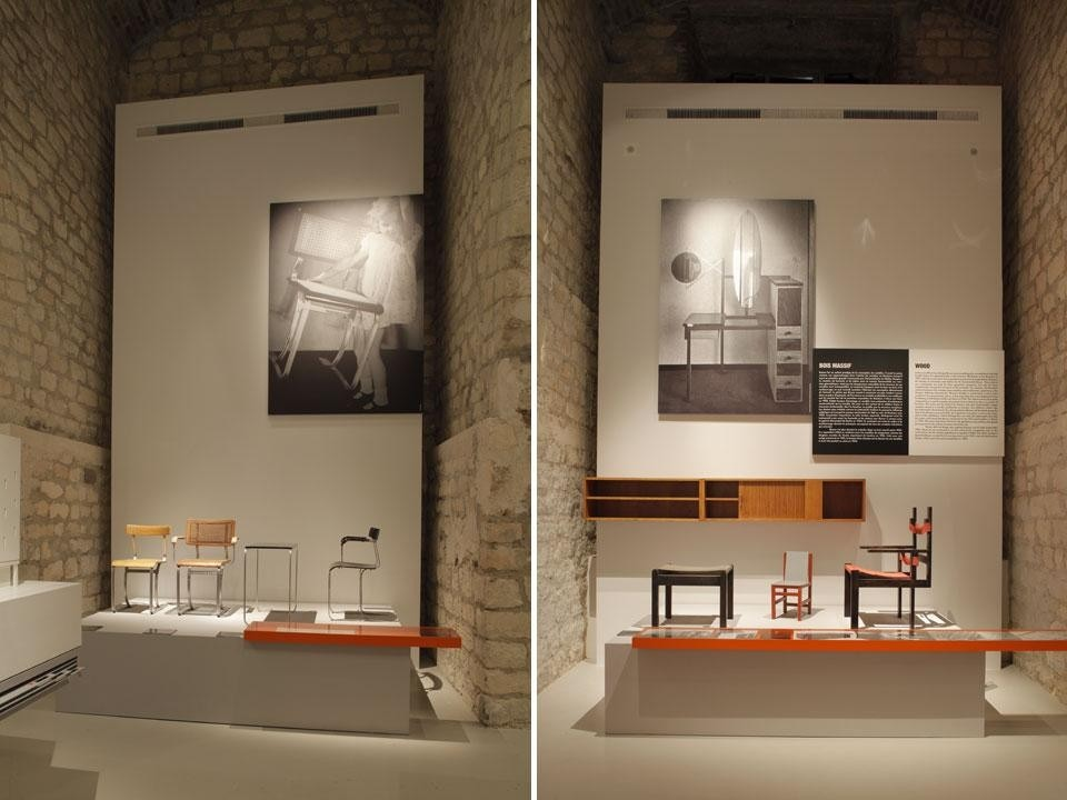 <em>Marcel Breuer (1902-1981): Design & Architecture</em>, installation view at Cité de l'architecture & du patrimoine, Paris
