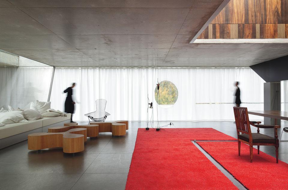 Maison bordeaux a textile revisitation - Maison de l architecture bordeaux ...