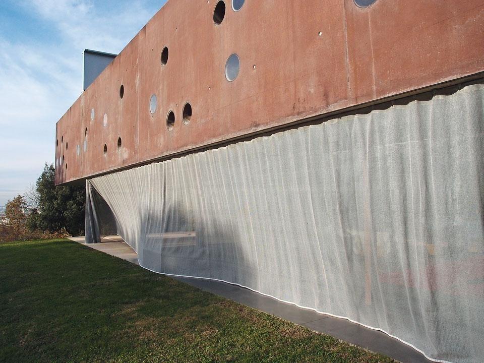 Maison bordeaux a textile revisitation domus - Maison de l architecture bordeaux ...