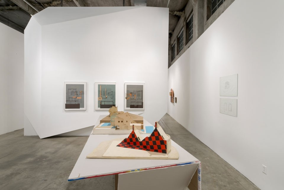 """A Confederacy of Heretics"", installation view at SCI-Arc, Los Angeles"