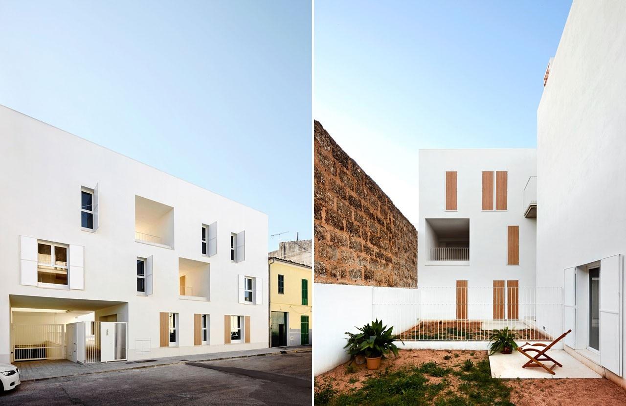 Ripolltizon social housing domus - Estudio arquitectura mallorca ...