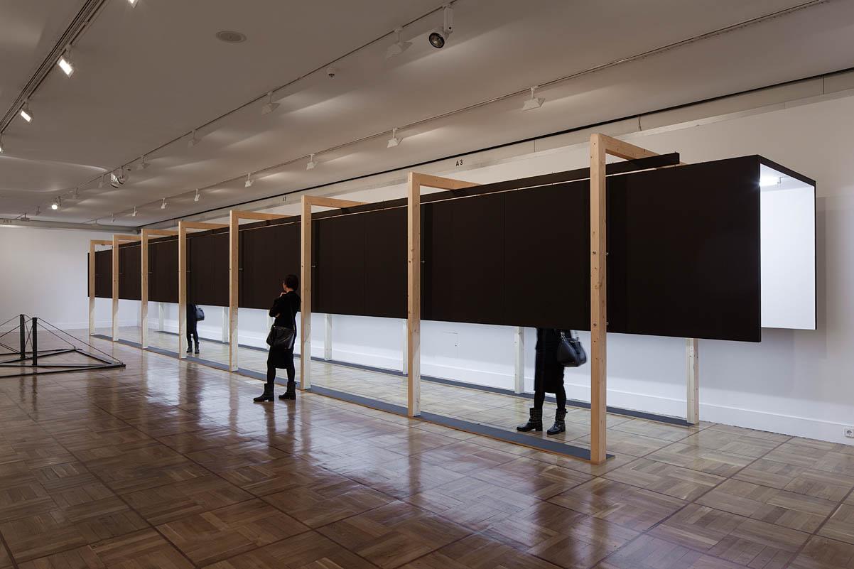 Cadaval sol morales exhibition design for Architecture art design