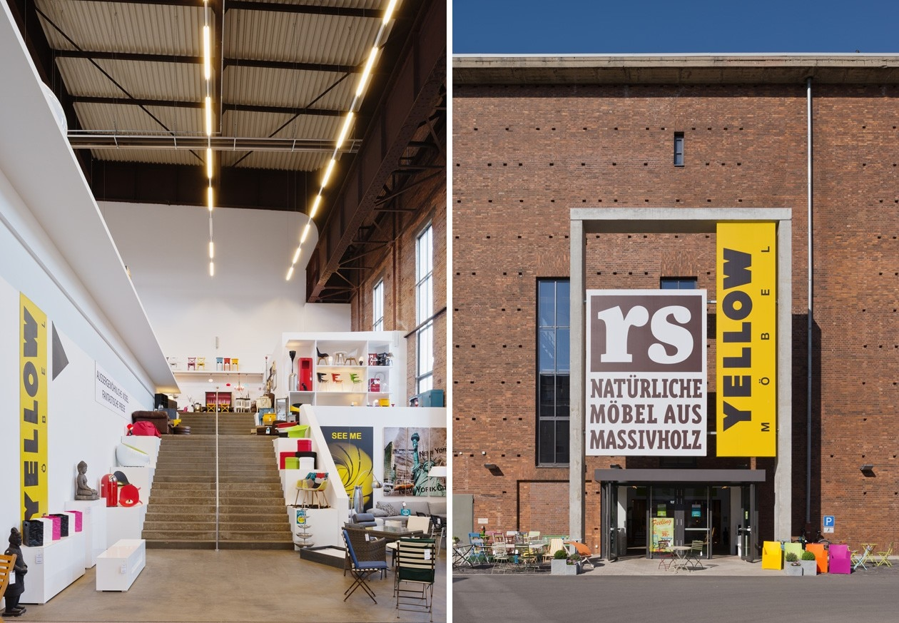 Bolles+Wilson: RS+Yellow Furniture Outlet - Domus