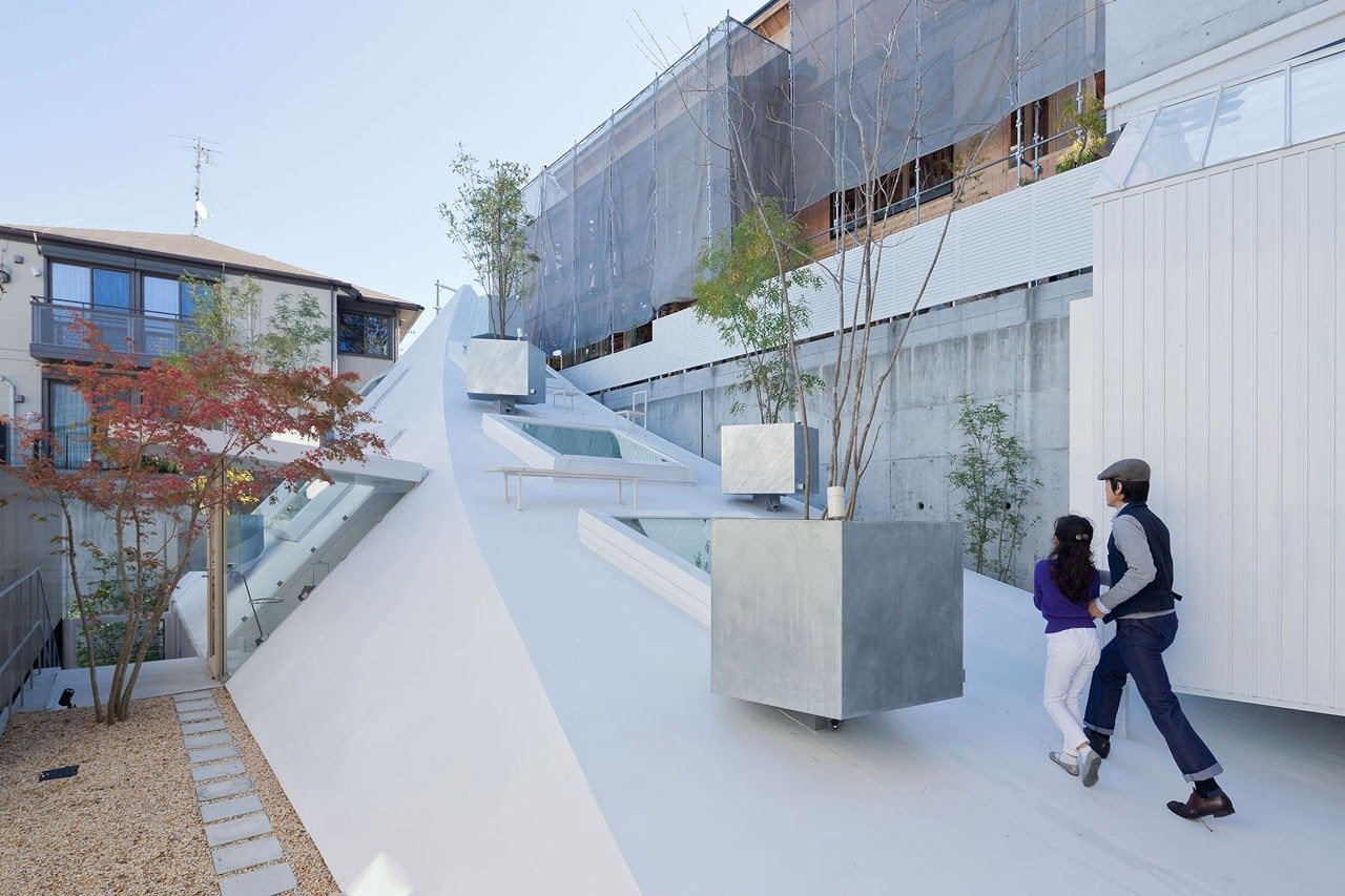 Complementary opposites domus for O house sou fujimoto
