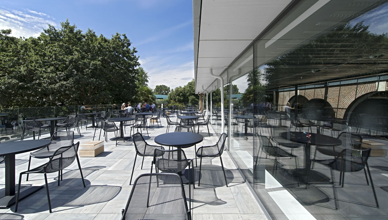 The terrace restaurant for Terrace building