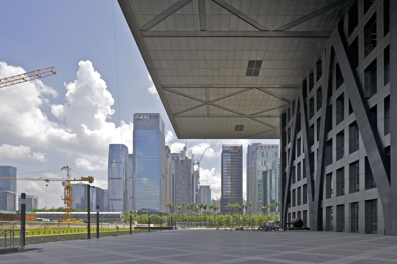 OMA: Shenzhen Stock Exchange. Image courtesy of OMA; photo Philippe Ruault