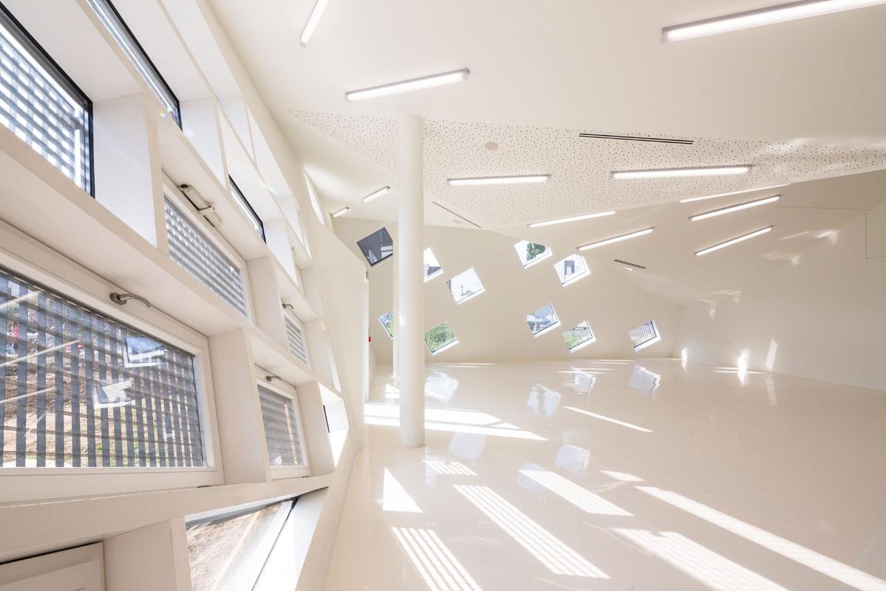 paul le quernec cultural centre mulhouse domus. Black Bedroom Furniture Sets. Home Design Ideas