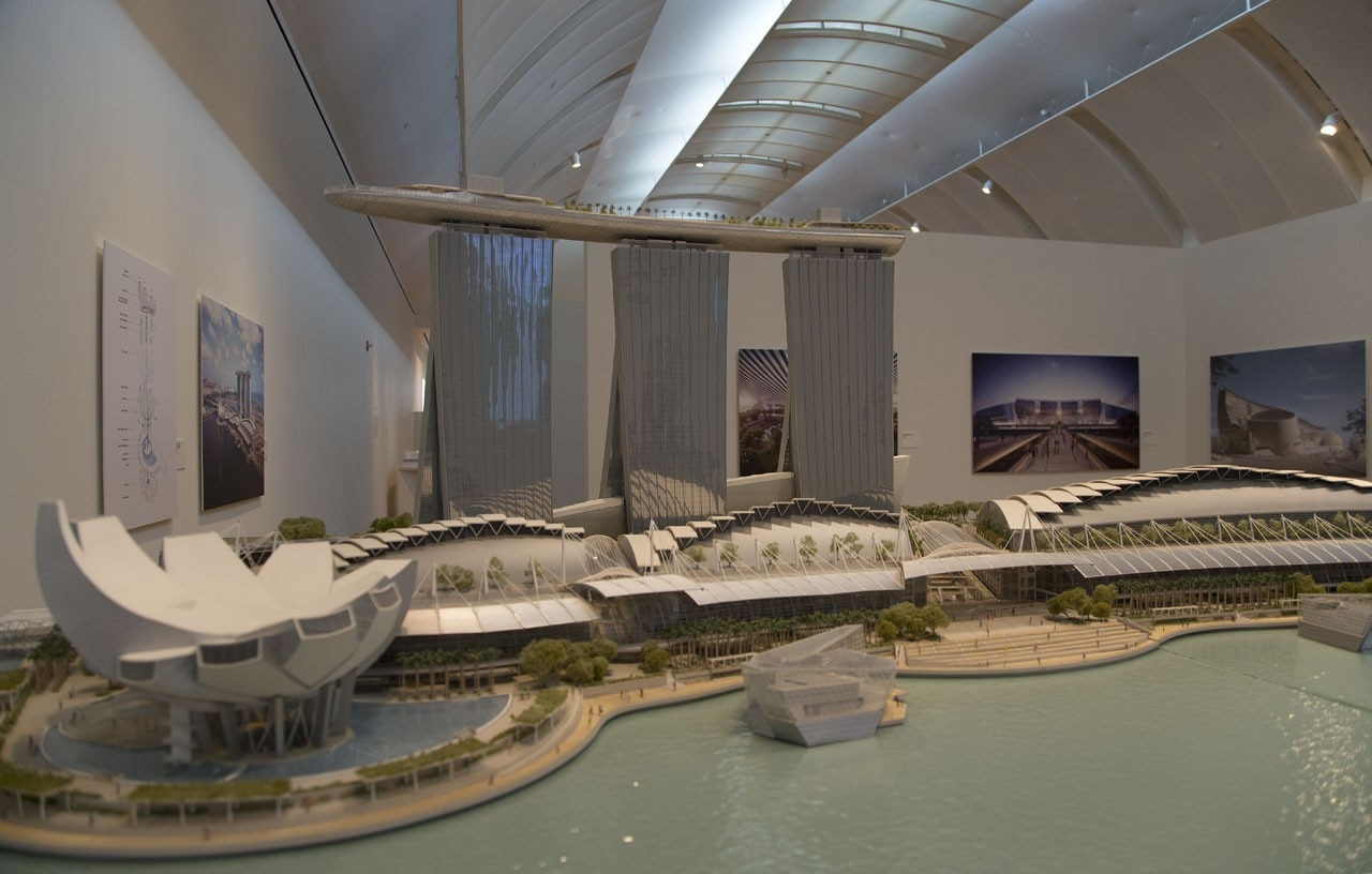 """Global Citizen: The Architecture of Moshe Safdie"", Skirball Cultural Centre, Los Angeles"