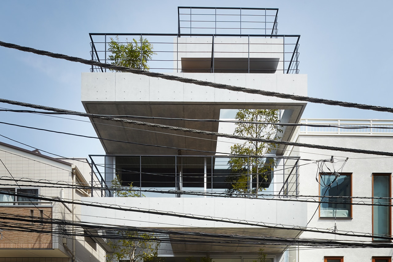 Balcony house for Architecture 00