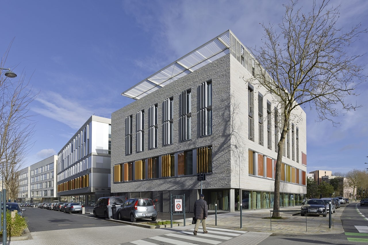 Bruno gaudin mixed use building for Architecture rennes