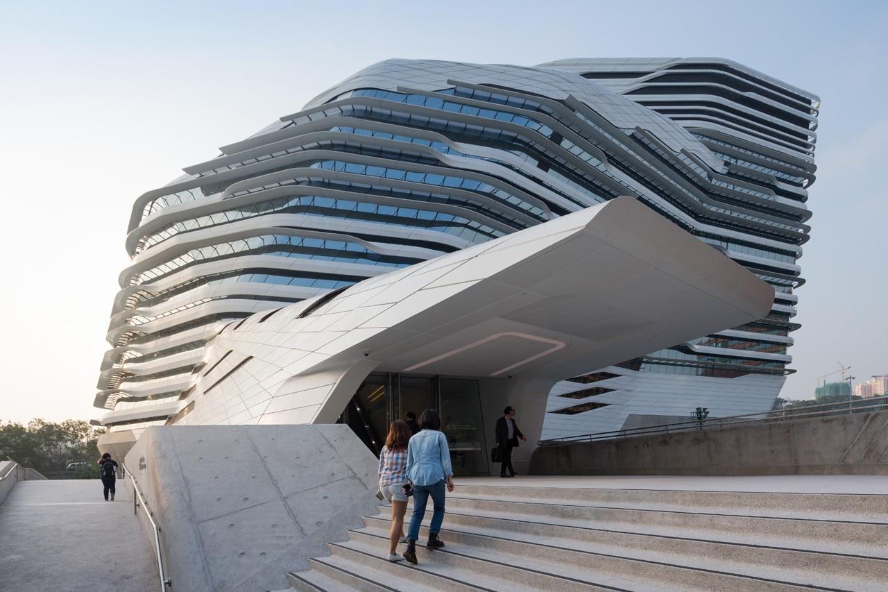 Zaha Hadid Jockey Club Innovation Tower Domus