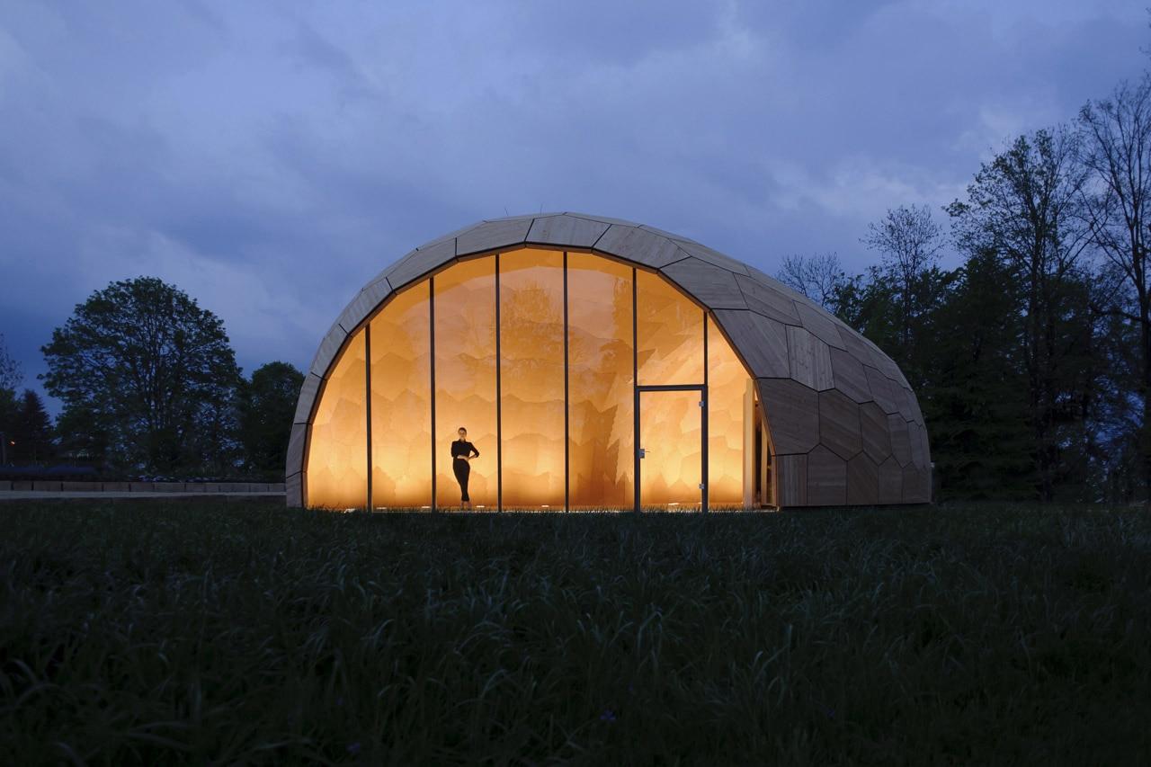 landesgartenschau exhibition hall. Black Bedroom Furniture Sets. Home Design Ideas