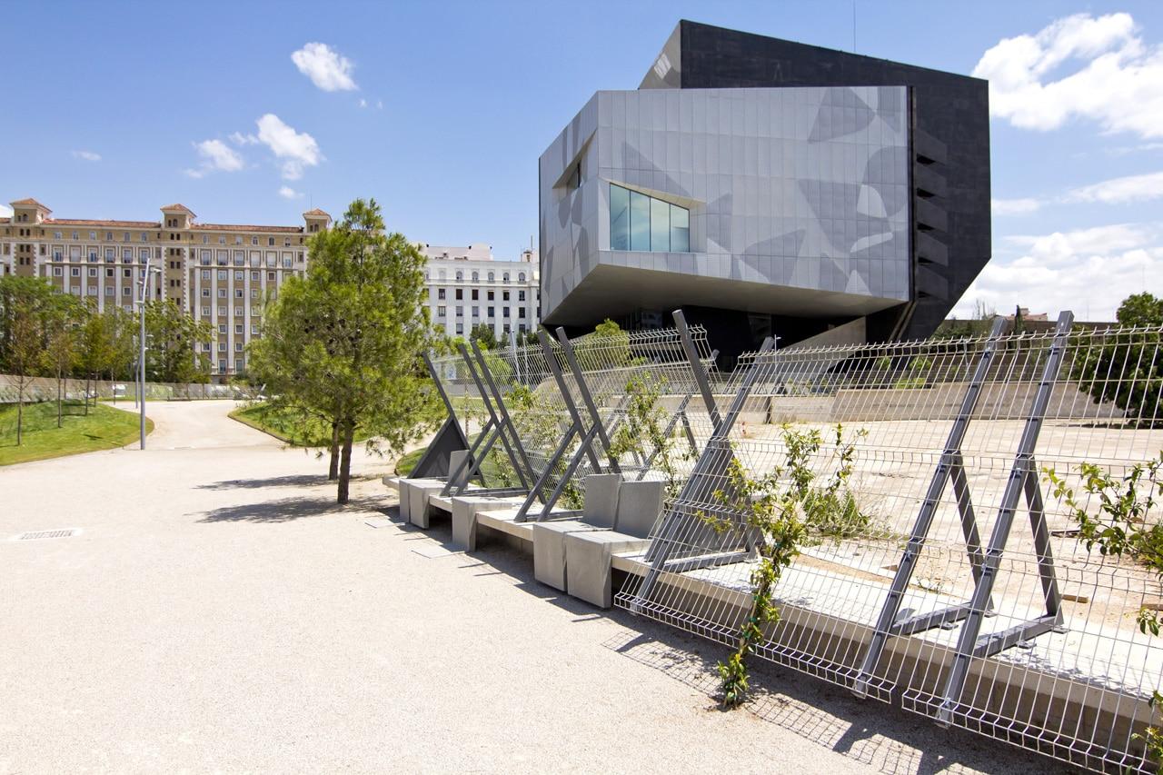 Carme pinos caixaforum for Estudios arquitectura zaragoza