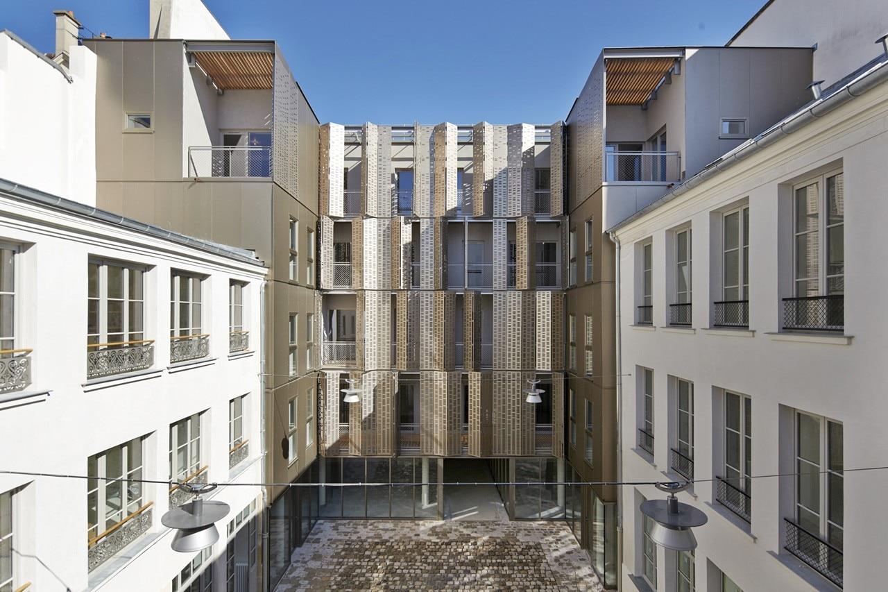 Le marais for Atelier 5 architecture