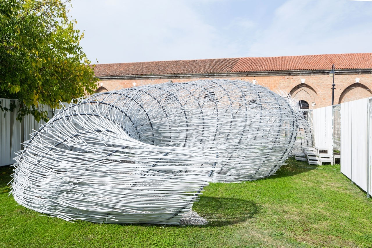 Bug Dome designed and realised by TCA Think Tank at the Venice Biennale 2014