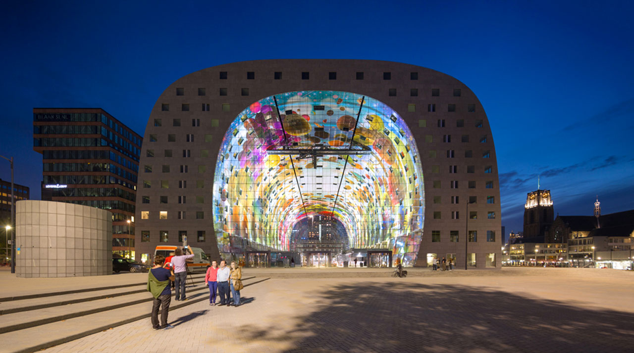 markthal rotterdam. Black Bedroom Furniture Sets. Home Design Ideas