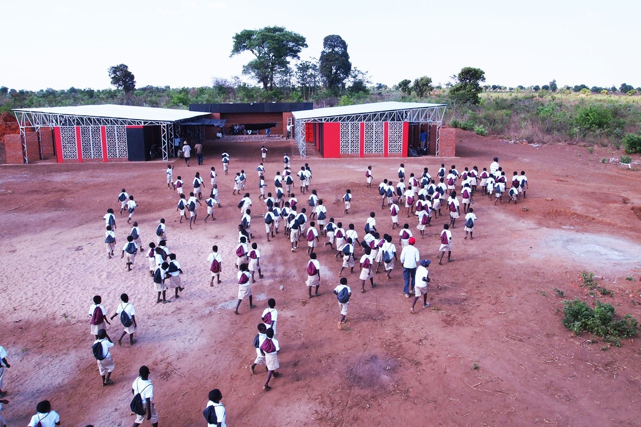 Community Center in Malawi