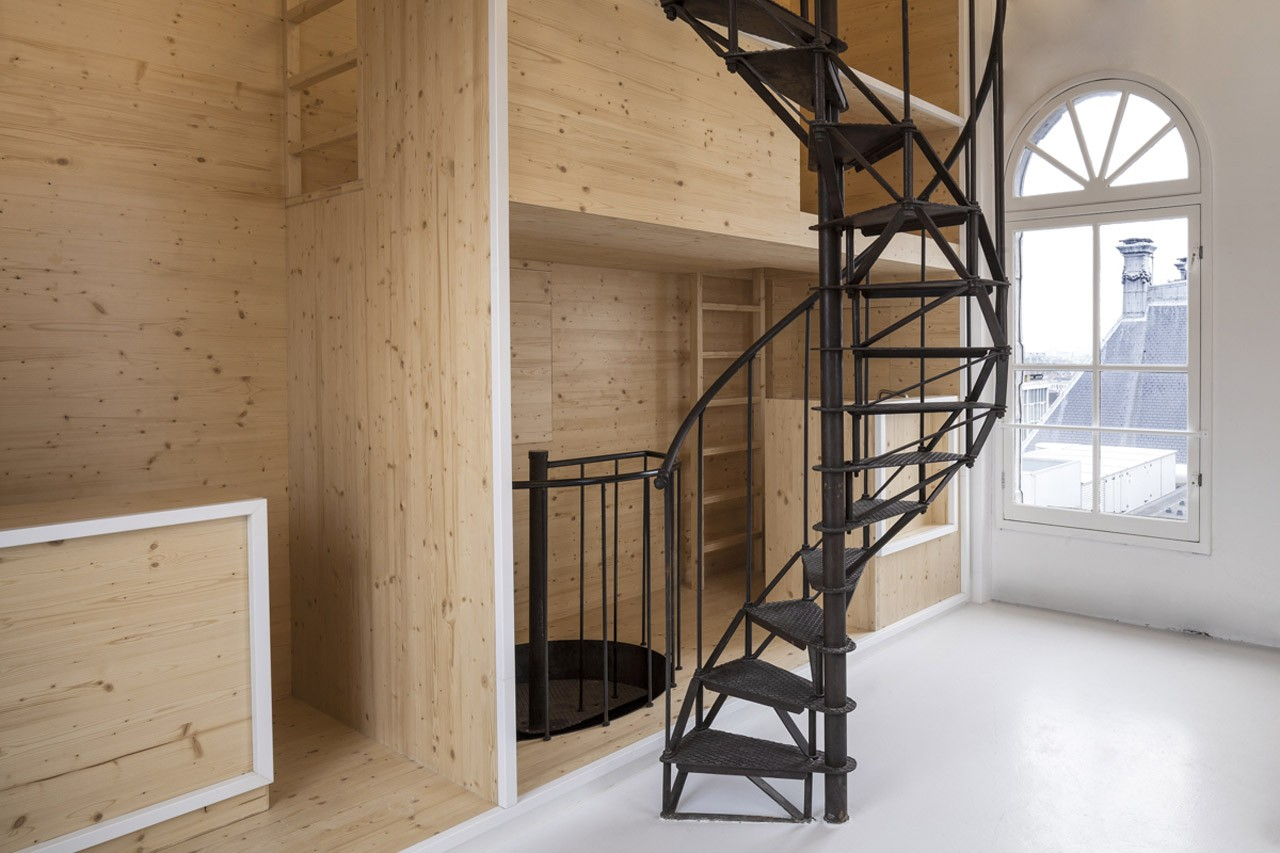 i29 interior architects,  Room On The Roof,  Tower on de Bijenkorf, Amsterdam