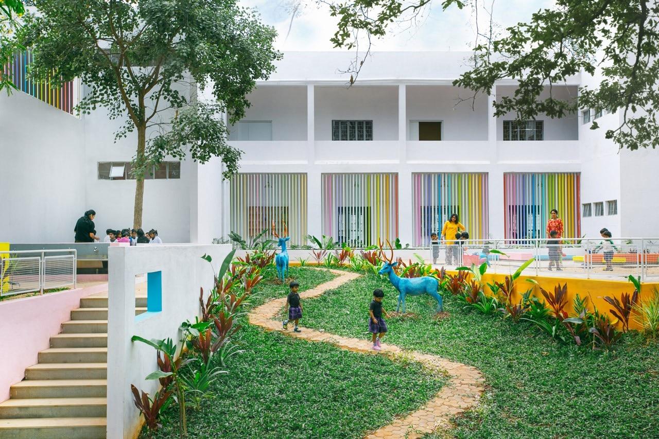 Kindergarten in bangalore domus for Education design architects bangalore