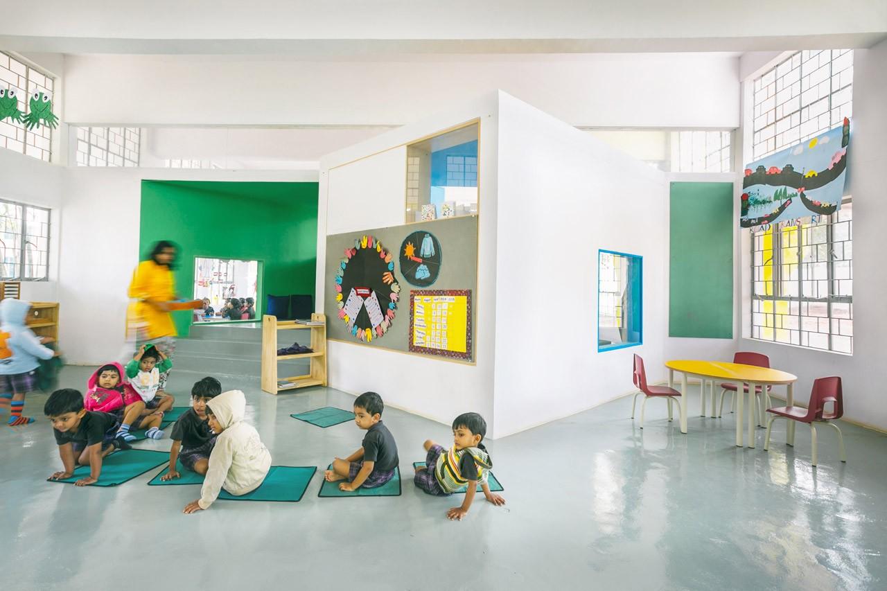 Classroom Logo Design : Kindergarten in bangalore domus