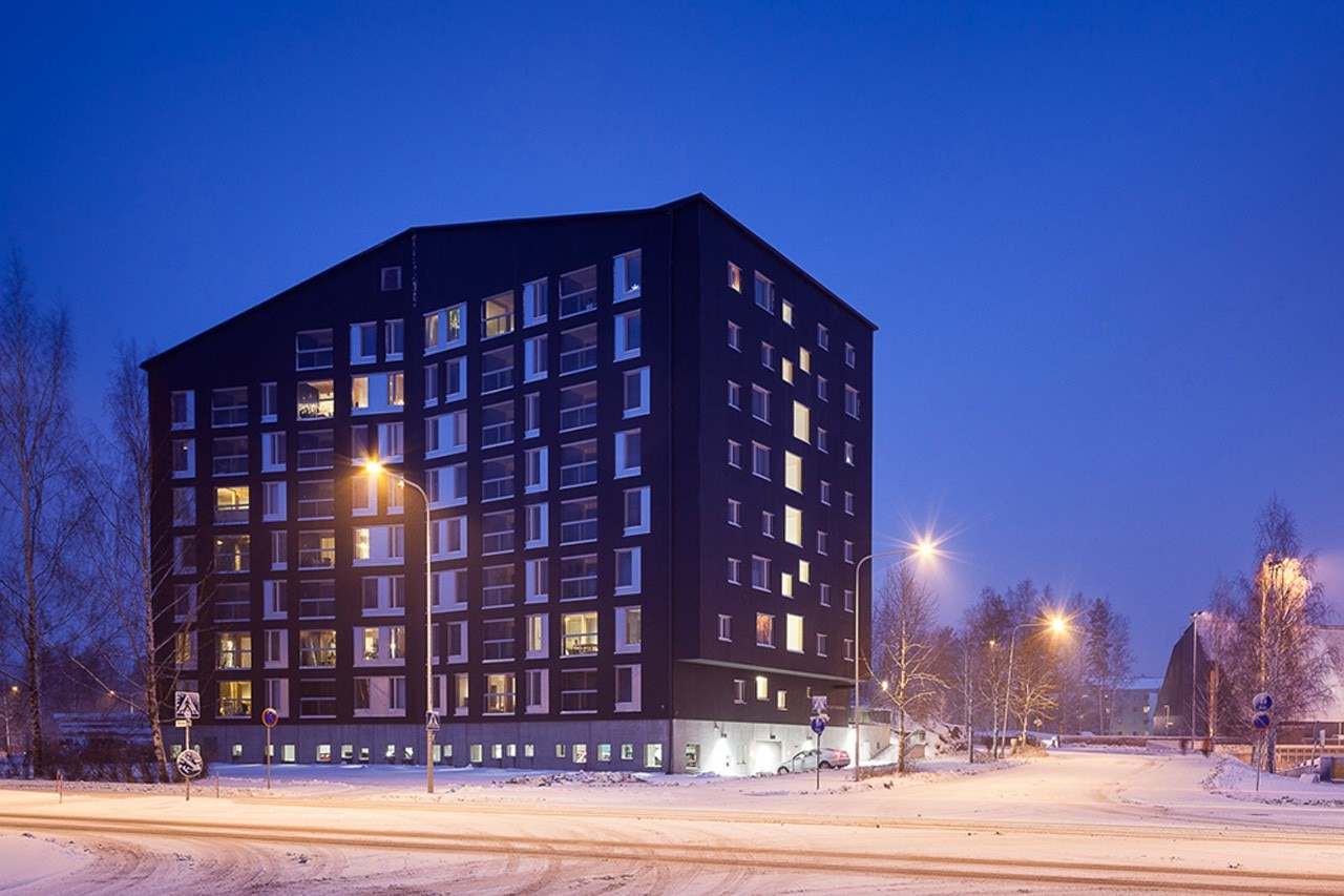 Puukuokka housing block