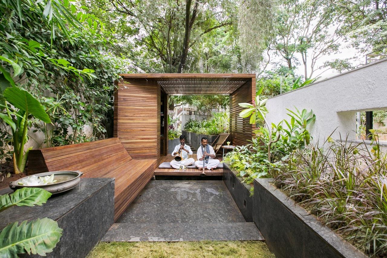 pavilion   garden domus