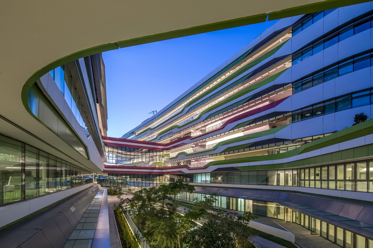 DP Architects and UNStudio, Singapore University of Technology and Design's academic campus, Singapore