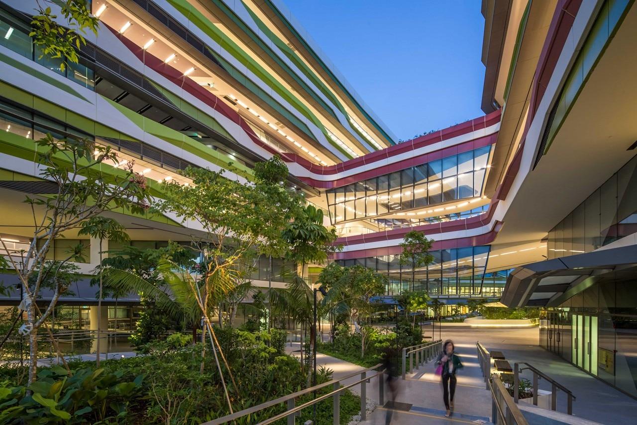 DP Architects And UNStudio, Singapore University Of Technology And Designu0027s  Academic Campus, Singapore