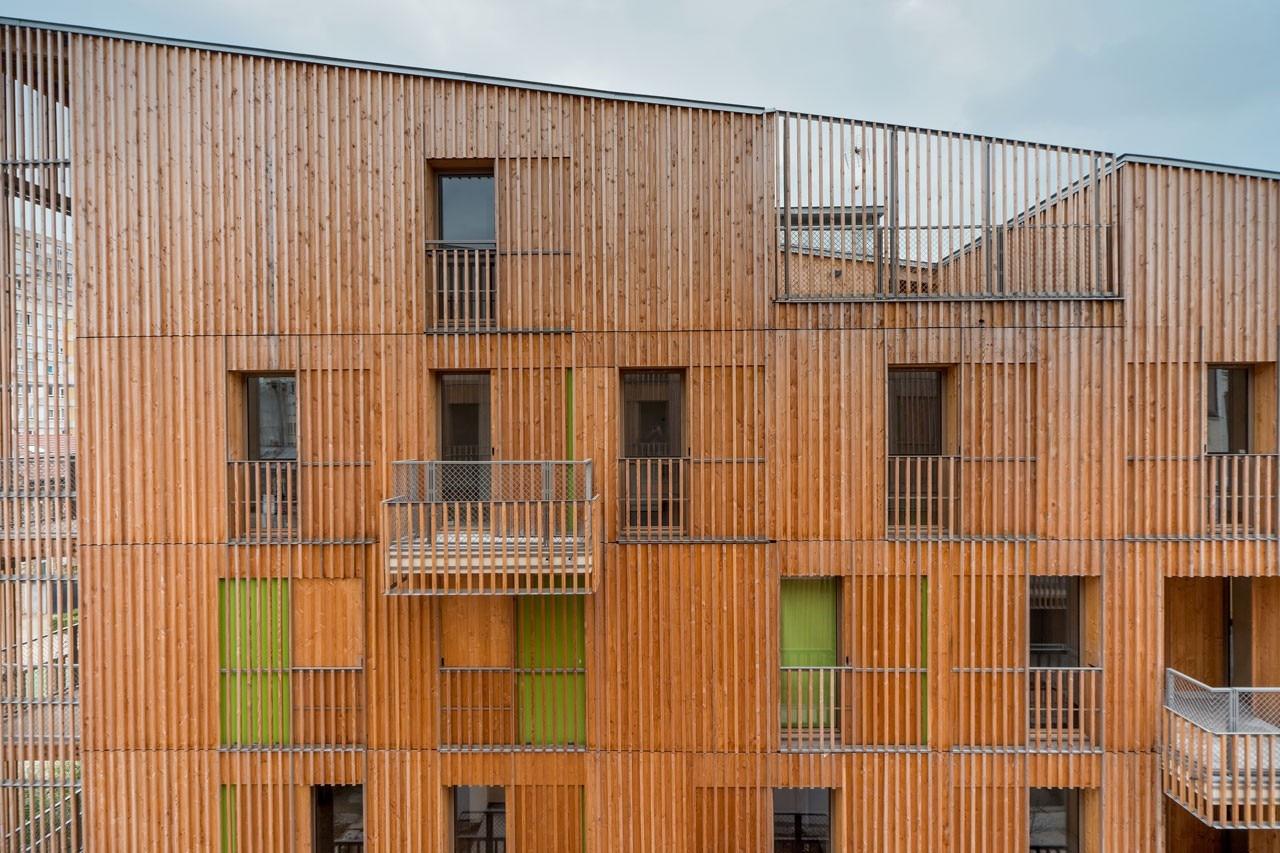 Tect ne auvry barbusse domus for Mazzocchi strutture in legno