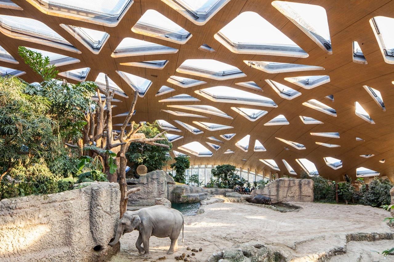elephant house zoo