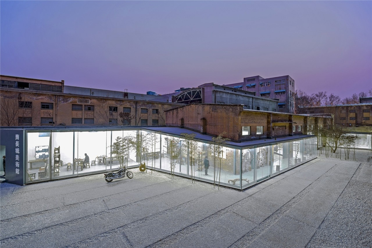 The great wall museum for Studio 11 architecture
